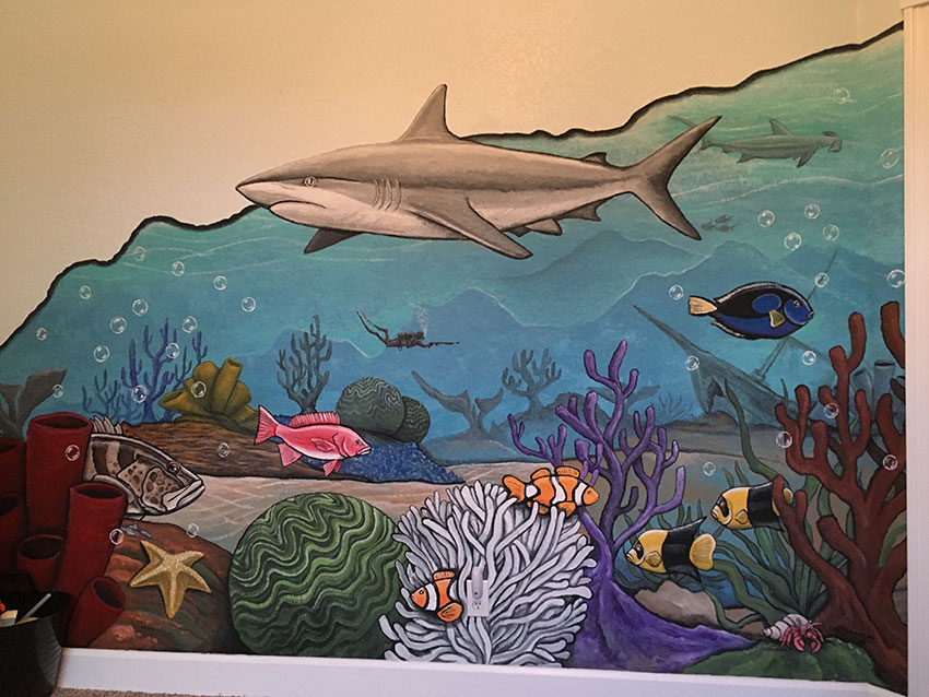 Jesse Wilhelms Artistic Visions Faux Finishing Custom Murals